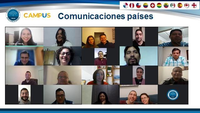En 17 países, nuestros voluntarios de corazón se capacitan en el aprendizaje de Redes Sociales