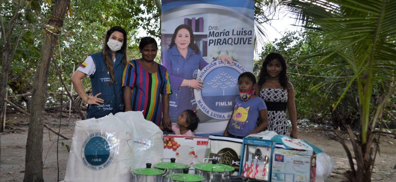 Entrega de Ayudas en Bolívar