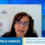 Ponencia de la directora gerente de COCEMFE, Elena Antelo.
