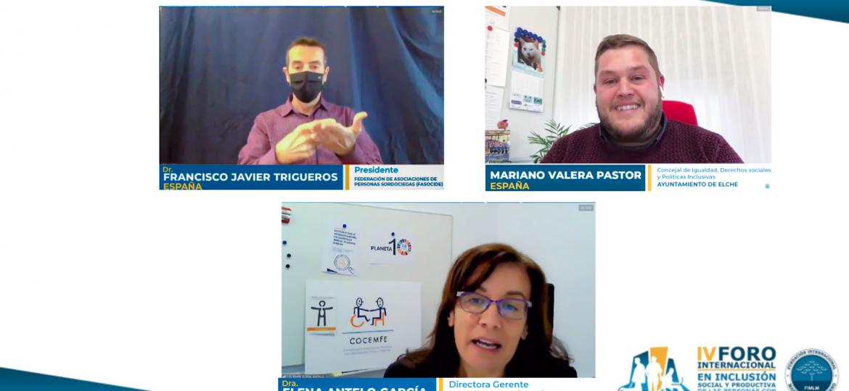 Ponentes de entidades españolas exponen sus logros y retos
