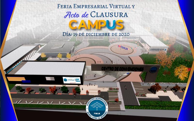 Feria Empresarial y acto de graduación del Campus Virtual de la Fundación