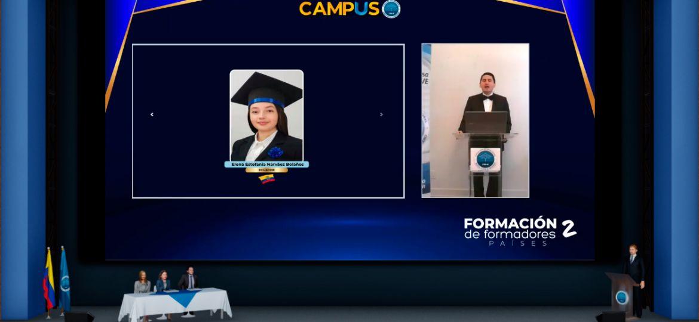 Graduación Formación de Formadores 2 Internacional