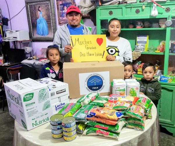 Entrega de ayudas humanitarias a 111 personas en Reynosa, Tamaulipas