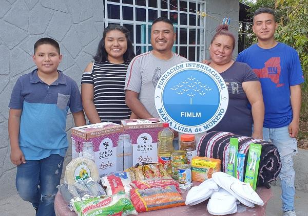 Continúa nuestro trabajo en el país azteca llegando ahora al Bajío, haciendo entrega de las ayudas en el domicilio de cada una de las 390 personas beneficiadas.