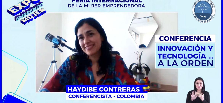 Conferencista Haydibe Contreras • Expo Emprende Mujer, 2021