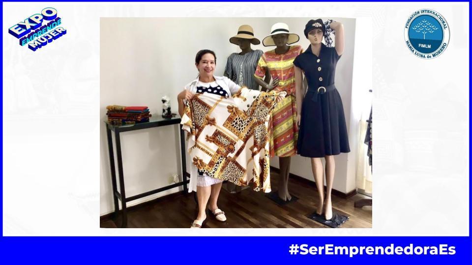 Ángela Charry y su emprendimiento de confecciones en Expo Emprende Mujer • 2021