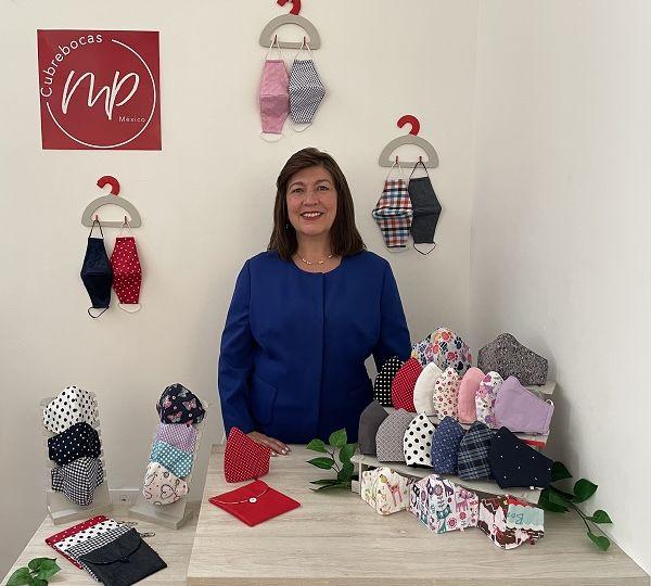 La pandemia significó para Martha Palacio la oportunidad de crear su negocio en Querétaro.