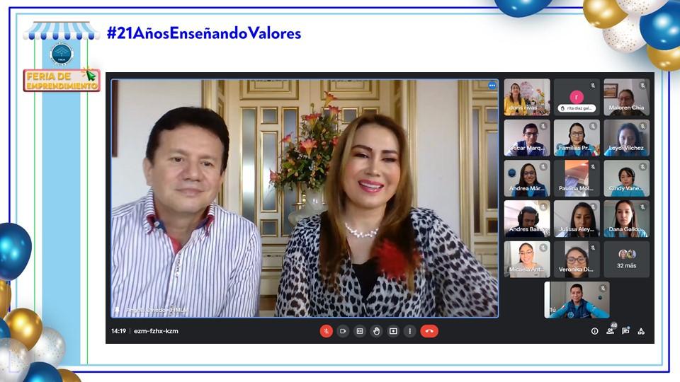 Feria virtual de emprendimiento stand de Perú