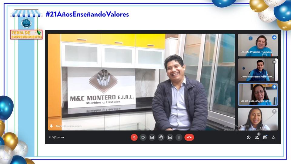M&C es el emprendimiento peruano que cautivó con su carpintería en la feria virtual empresarial. Julio 2021