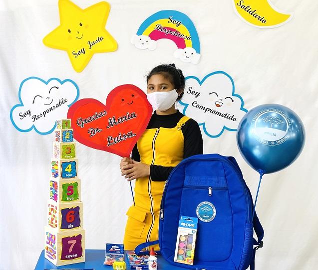 A Portada Entrega de kits escolarea en Lima