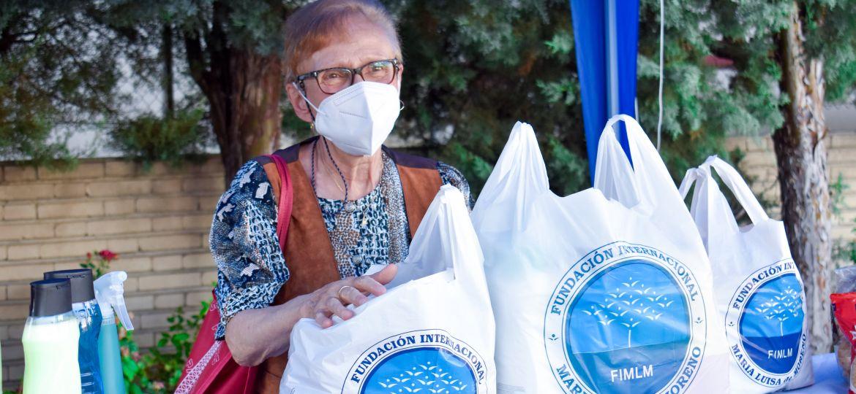Entrega de ayudas a familias de Leganés
